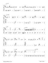 Part of Your World-The Little Mermaid OST Numbered Musical Notation Preview 2