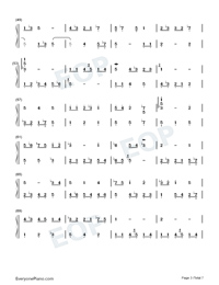 Homo Suites-Original Music Numbered Musical Notation Preview 3