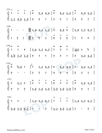 Homo Suites-Original Music Numbered Musical Notation Preview 6