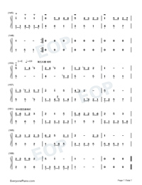 Homo Suites-Original Music Numbered Musical Notation Preview 7