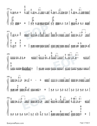 Mama and Papa-Li Ronghao Numbered Musical Notation Preview 3